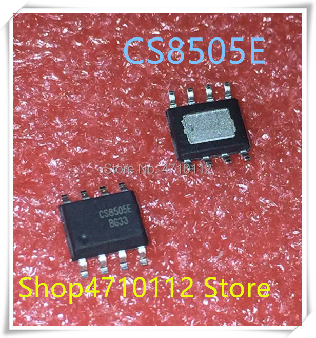 NEW 10PCS/LOT CS8505E CS8505 8W Mono Channel HSOP-8  IC