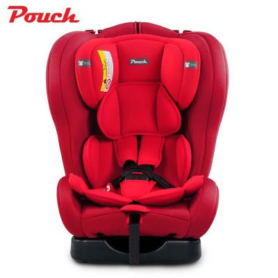 Q-18 (Red) Pouch Infant Car Seat Luxury Baby Car Seat Head Support Booster Baby Car Seat Pouch Isofix
