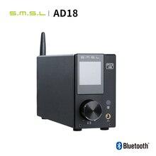 SMSL AD18 HIFI amplificateur Audio stéréo Bluetooth Apt X USB DAC amplificateur lecteur DSP pleine puissance numérique amplificador 2.1 pour haut parleur