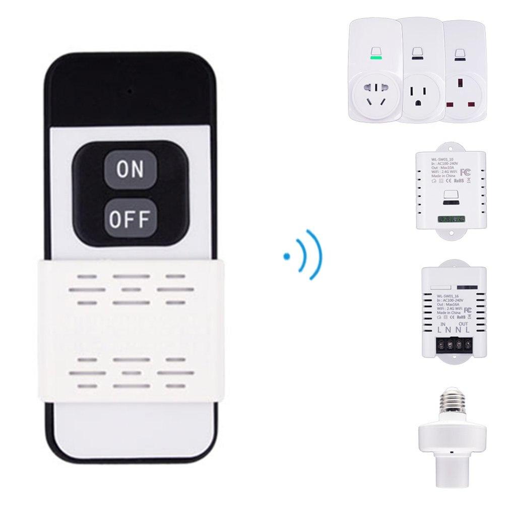 Smart Plug 10A Wifi Wireless Smart Power Monitor EU AU UK US Plug Socket Outlet Switch For ECHO For ALEXA For GOOGLE Socket