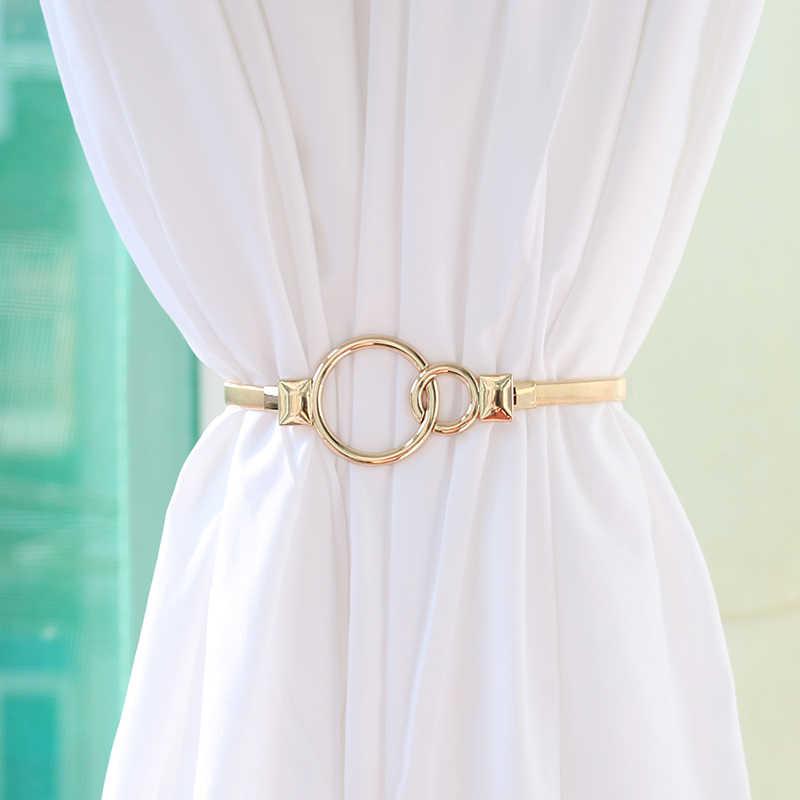 pince a rideau en metal pince a boucle attaches porte rideau couleur argent dore feuilles arc elk boucle cravate dos rideau accessoires