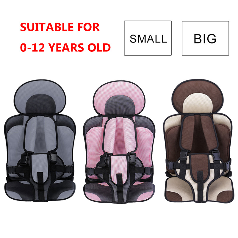 Baby Seat 0-12 Years Old Portable Child Seat Adjustable Travel Baby Seat Covers Baby Chair Stroller Seat Pad Safety Kids Cushion