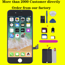 цена на AAA+ LCD For iPhone 6 6s 7 Plus Display Touch Screen digitizer for iPhone 8plus X Oled Screen module New pantalla No dead pixel