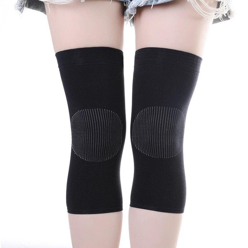 Women Warm Knee Kneepad Slim Knee Protector Room Outdoor Breathable Knee Thermal Knee Pads Keep Warm Invisible Stretch Kneepad