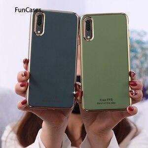 Чехлы силиконовые для Huawei P20 лучшие продажи мягкий чехол Carcas Huawei Ascend P20 Lite 2019 Y6 2018 P40 Y7 Y5 Pro Y9 P30 Prime