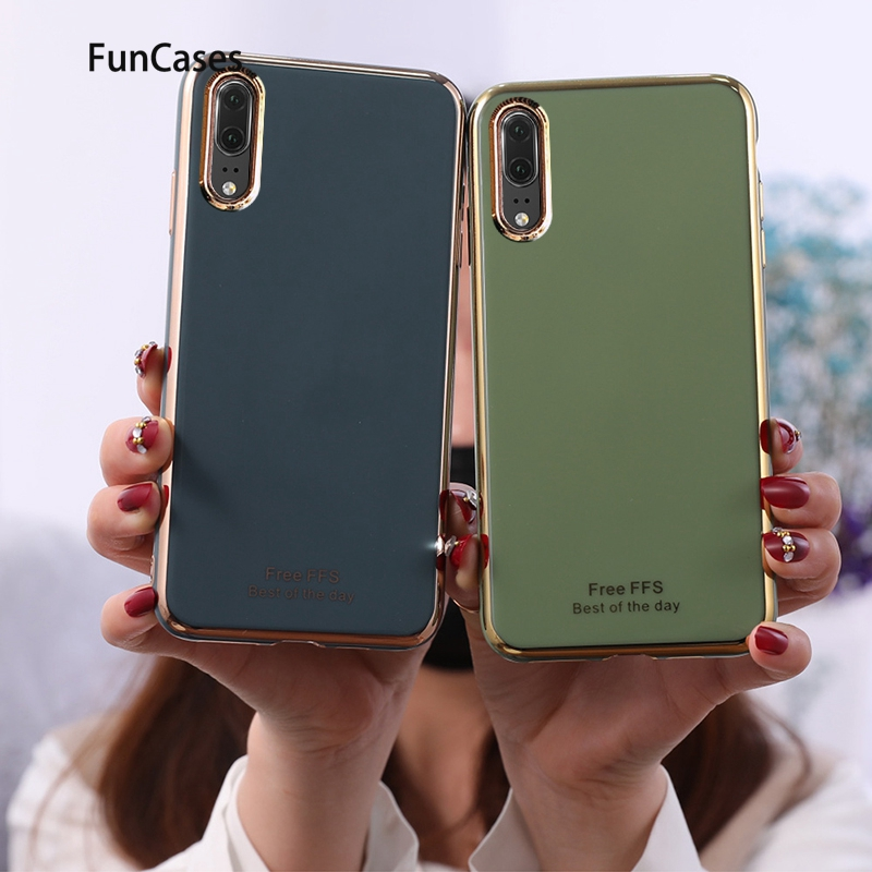 Covers Silicon For Huawei P20 Best Selling Soft Case Shell Carcas Huawei Ascend P20 Lite <font><b>2019</b></font> Y6 2018 P40 <font><b>Y7</b></font> Y5 Pro Y9 P30 Prime image