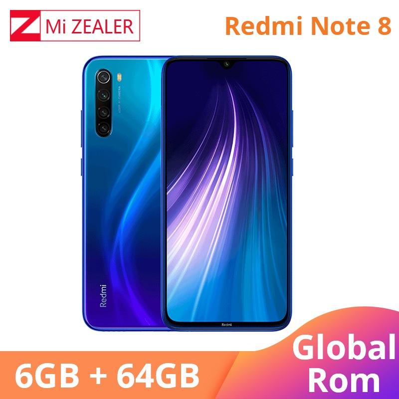 Global ROM Xiaomi Redmi Note 8 6GB RAM 64GB ROM Octa Core Smartphone Snapdragon 665 48MP 6.3