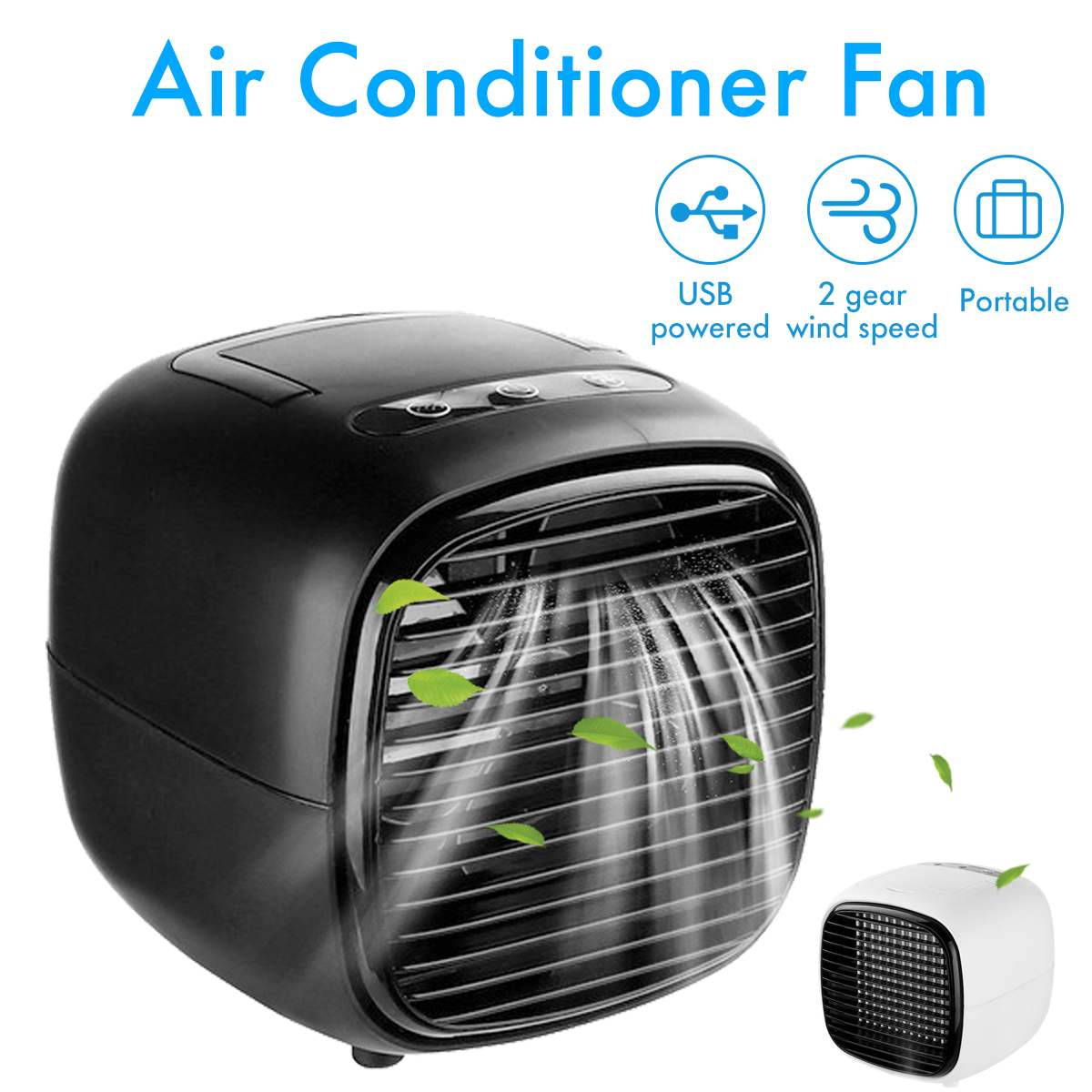 Humidifiers Mini Air Conditioner Air Cooler Fans USB Portable Air Cooler Table mini Fan For Office Home Car Refrigerating Device