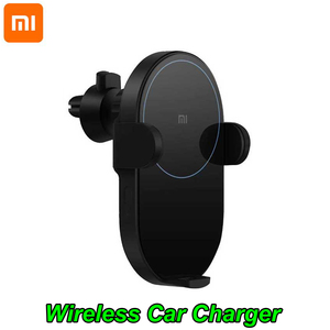Image 2 - 100% Xiao Mi Mi สูงสุด 20 วัตต์ Qi Wireless Car Charger WCJ02ZM อัจฉริยะเซ็นเซอร์อินฟราเรด Fast ชาร์จโทรศัพท์ผู้ถือ