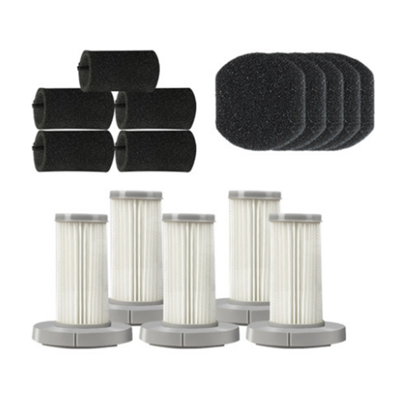 Handheld Vacuum Cleaner Hepa Filter Sponge Filter Set For Xiaomi Deerma DX700 DX700S Vacuum Spare Parts Accessories Replacement
