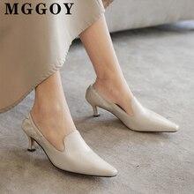 К 2020 году новые плиссированные низкий каблук туфли квадратный носок повседневный насосы женщин каблуках женщина плюс Размер 41 42 43 см PU женские бежевые обуви