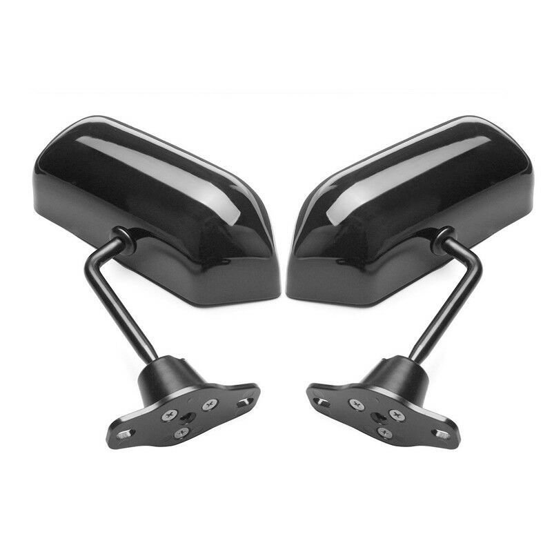 Image 5 - 2PCS Universal F1 Style Rear View Racing Car Side Mirror Convex Glass Cafe Retro-in Mirror & Covers from Automobiles & Motorcycles