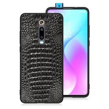 Housse de téléphone en cuir véritable naturel pour Xiao mi 9T Pro 9 Lite SE mi 9 mi 9t t 9 Lite Global 64/128 GB pare chocs