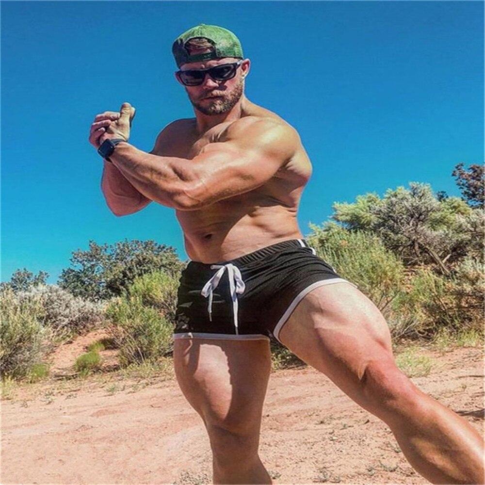 Новые модные быстросохнущие ультратонкие спортивные шорты в сеточку, Мужские дышащие шорты для тренировок, летние повседневные пляжные