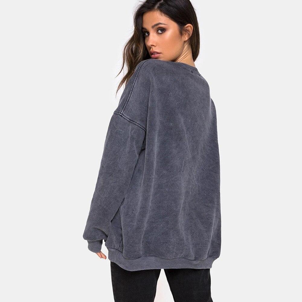BOOFEENAA/милый Графический свитер с принтом ангела; женская плотная толстовка с капюшоном больших размеров; пуловер; Одежда для девочек; эстетические толстовки; C54-AG02
