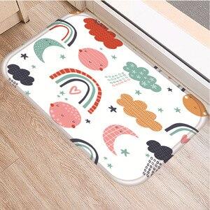 Image 2 - 小動物パターンノンスリップ寝室の装飾ソフトカーペット台所の床リビングルームのフロアマット浴室ノンスリップマット40x60センチメートル。