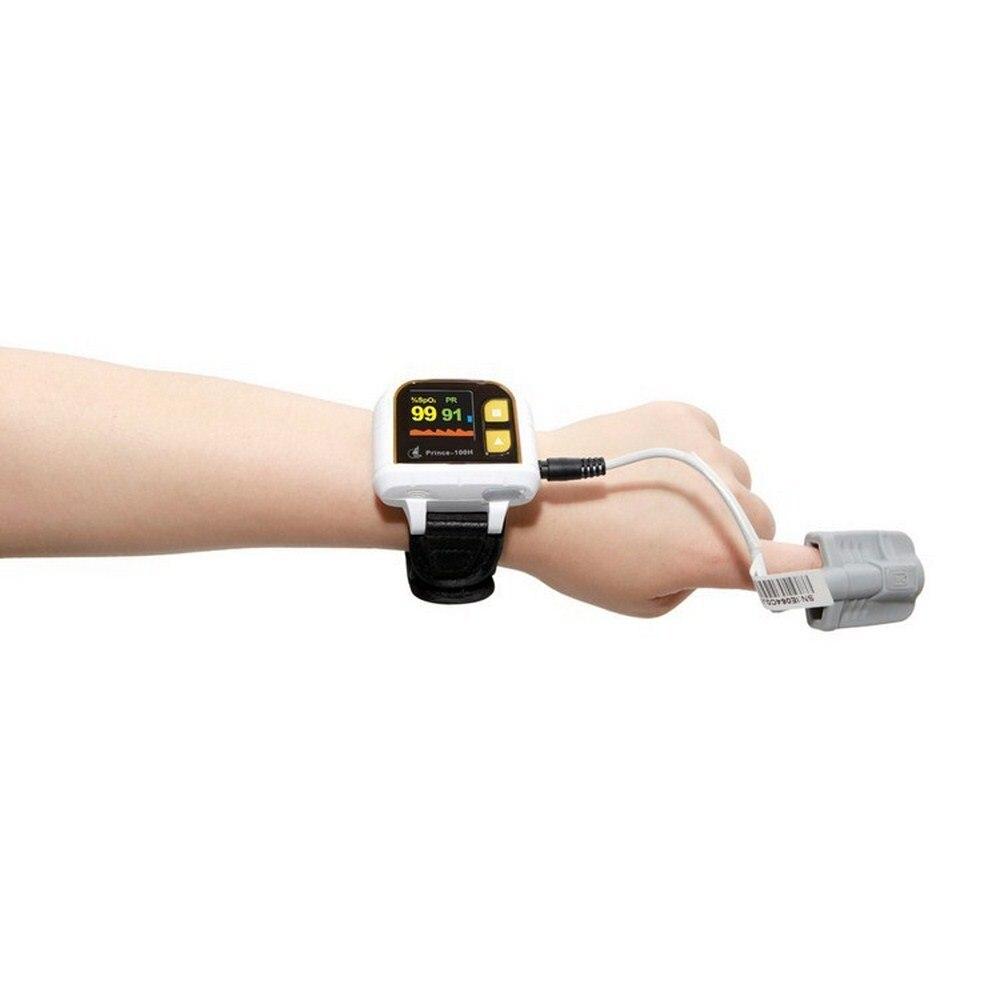 Prince-100H пульсоксиметрический детектор пульса пульсоксиметрический мониторинг пульса дыхания