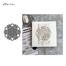 JC Lace Flower Metal Cutting Dies for Scrapbooking Background Die Cut Card Making Stencil Craft Folder Model Paper Decoration