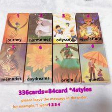 336 Speelkaarten 4 Stijlen Vertel Verhaal Kaarten Game Hoge Kwaliteit Board Games Voor Kinderen 8 Uitbreiding Home Party Fun board Game