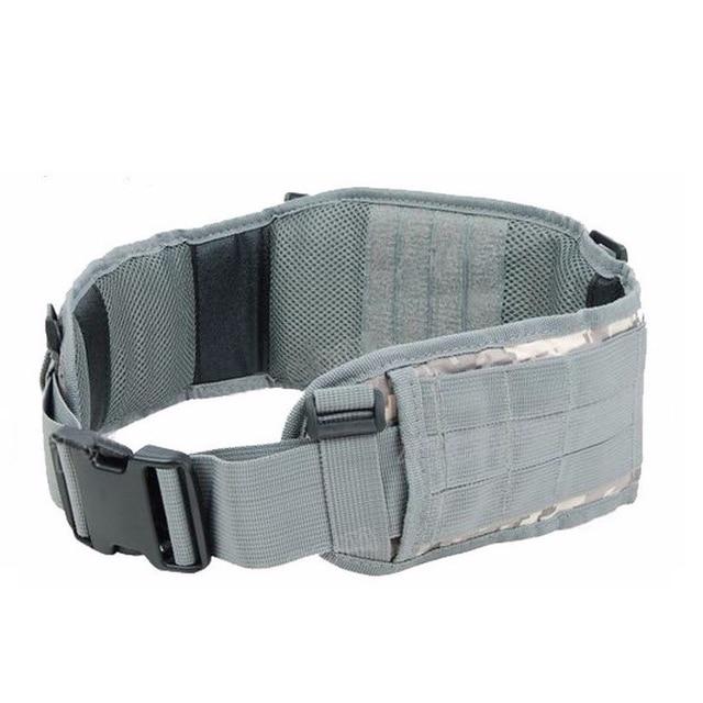Airsoft huntingTactical gear Padded 1000D Nylon Molle Waist Belt Combat Army Battle mility Cummerbunds For Mens tatico multicam 3