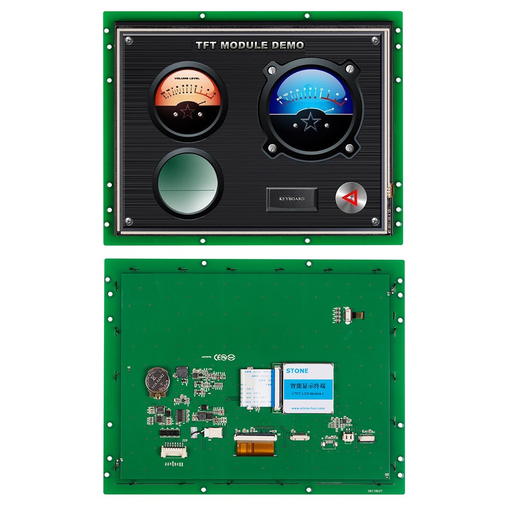 10.4 Inch Intelligent TFT LCD Monitor Module With Controller Board+CPU+Program Support Any MCU