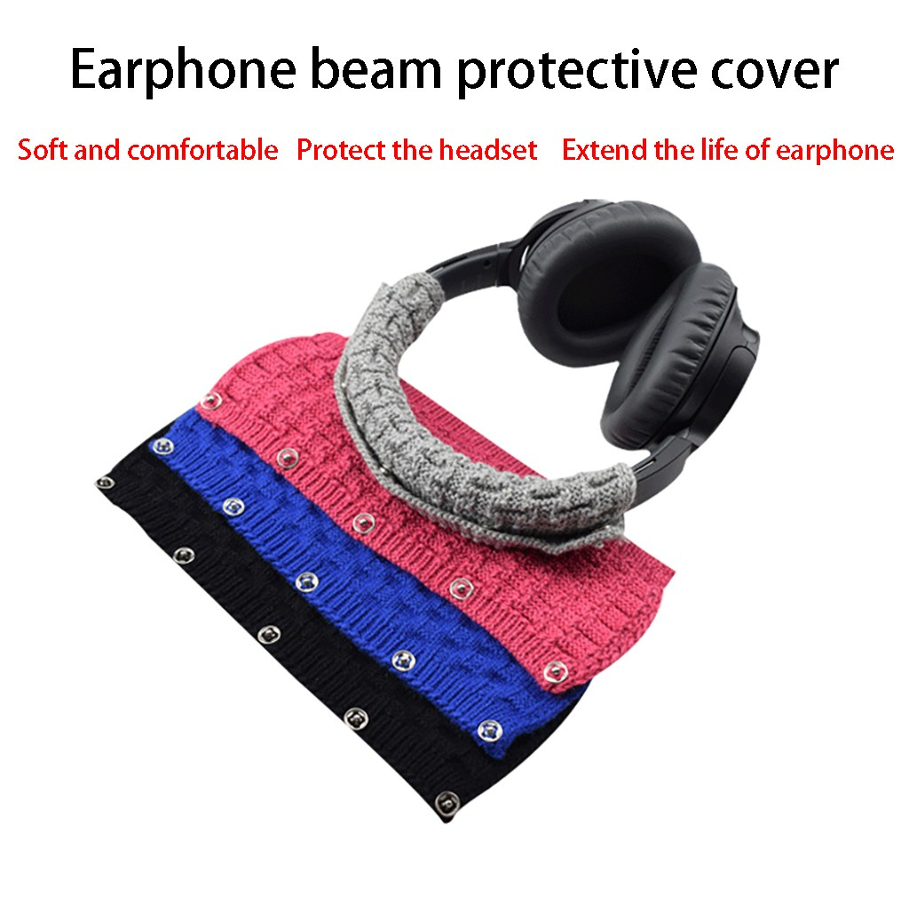 for Beat-s Pro MSR7 M50X Universal Wool Head Band Protector Pad Cover for Beat-s Pro MSR7 M50X Headphones FW3