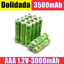 2/4/8/12/20pcs 100% Original AAA 3000 mAh 1.2 V Quality rechargeable battery AAA 3000 mAh Ni-MH rechargeable 1.2 V 2A battery