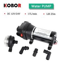 Fl-40 Fl-44 12v 24v Dc Low Pressure 40psi(2.8bar) Lift Max 25m Electric Diaphragm Pump Irrigation Motorhome Car Water Supply