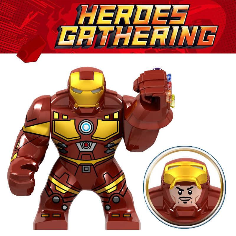 New Super Heroes Iron Monger Avengers 4 EndGame Bricks Iron Man Building Blocks