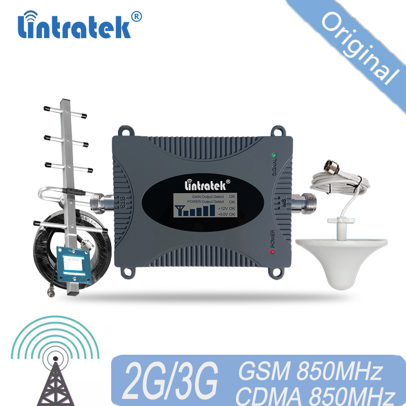 LTE UMTS Signal Booster 850mhz GSM CDMA 2G 3G 4G Wireless Cellular Repeater 3G Mobile Phone Repeater Signal Booster Amplifier 4