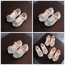 Footwear Rhinestones Princess-Shoes Baby for Spring Summer Fall 12-36m Simple/cute Bowknot