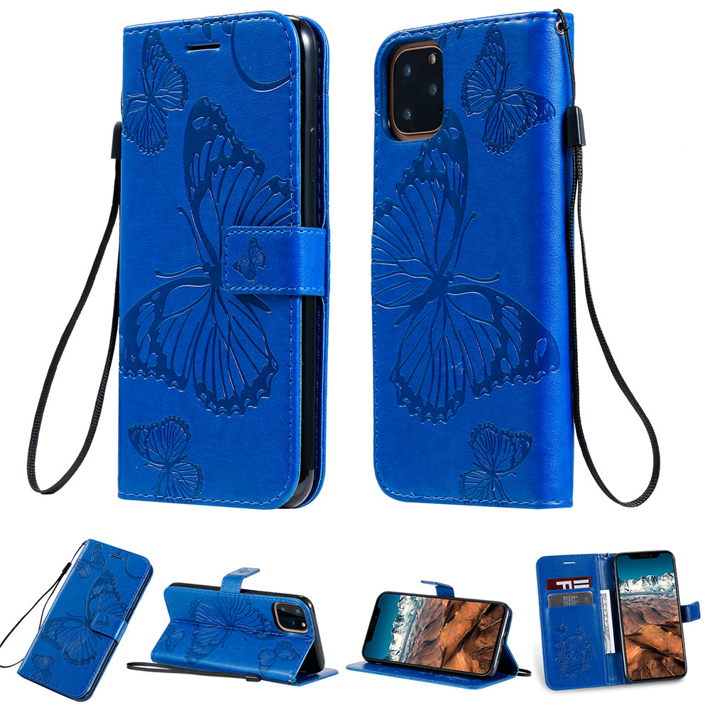 Butterfly Leather Wallet Case for iPhone 11/11 Pro/11 Pro Max 7