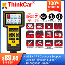 Thinkcar Thinkscan 600 Abs/Srs OBD2 Scanner TS600 Olie/Tpms/Epb Reset Obd Ii Code Reader Scanner pk CR619 AL619