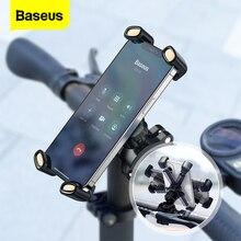 Baseus 自転車用電話ホルダー,360 ° 回転サポート,4.7 6.7インチ,iPhone 12,Xiaomi,Samsung用オートバイ電話ホルダー