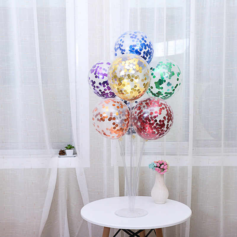 1 шт. 12 дюймов цветные шарики ко дню рождения воздушные шары вечерние шары детская игрушка баллонстранспарент воздушные шары для дня рождения детский душ