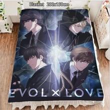 Fleece Blanket Bedspreads Anime Love And Carpet Otaku 200cm for Producer Bai Qi Handsome