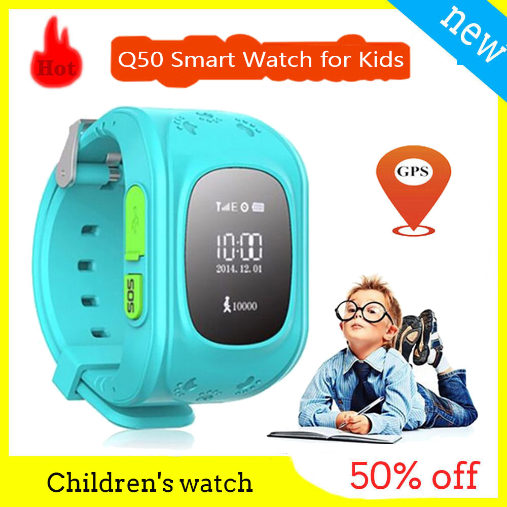 Global version Kids Children's Smart Watch <font><b>Q50</b></font> <font><b>GPS</b></font> SOS call location finder child locator tracker anti-lost monitor baby watch image