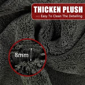 Image 3 - 60*90 1200GSM Car Detailing Microfiber Towel Car Cleaning Drying Cloth Car Care Cloth Detailing Car Washing Rag for Care Kitchen