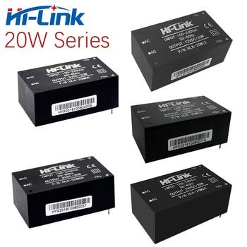 Hola-Link 220V/110V a 5V/9V/12V/15V/24V 20W paso transformador de potencia AC DC fuente de alimentación 1