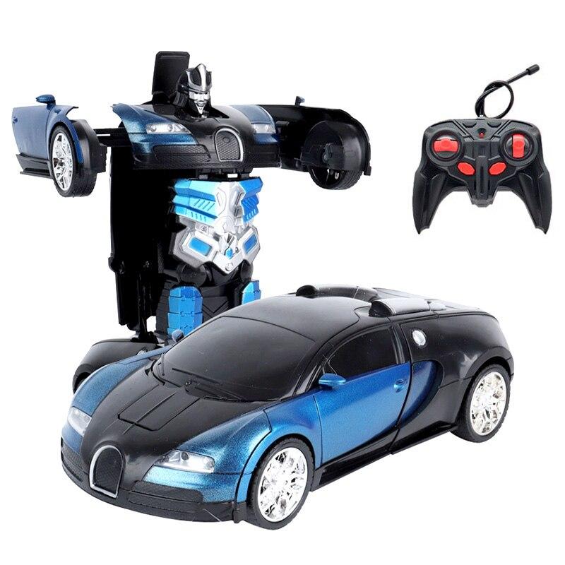 26 Stijlen Rc Auto Transformatie Robots Sport Voertuig Model Robots Speelgoed Remote Cool Rc Vervorming Auto Kinderen Speelgoed Geschenken Voor jongens 4