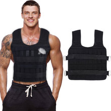 Vest Sand-Clothing Waistcoat Fitness-Equipment Exercise Gym Protect Boxing-Train Loading-Weight