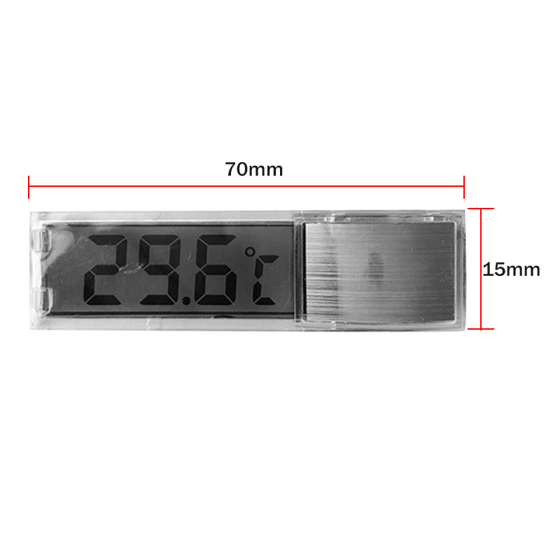 Multi-Functional LCD 3D Digital Electronic Temperature Measurement Fish Tank Temp Meter Aquarium Thermometer AC889