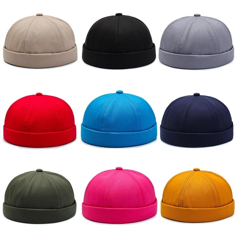 Unisex Beanie Retro Dome Cap, Landlord Hats, Skullcap Lovers Beret ,Caps Ladies Hat Hip-hop Caps