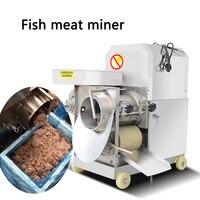 180 kg/std Kommerziellen fisch flesh knochen separator XZC 160 edelstahl automatische fisch fleisch extractor für kantine/restaurant/hotel-in Küchenmaschinen aus Haushaltsgeräte bei