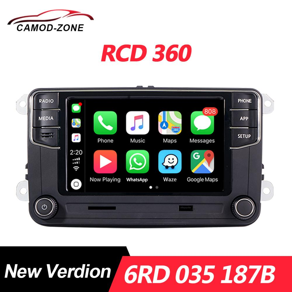 MIB Radio Polo Rcd360 Carplay Rcd 360 187B Jetta MK6 Tiguan Passat B6 Golf 5 6RD 035 title=