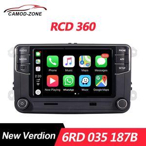 MIB RCD360 Carplay Radio 6RD 035 187B RCD 360 For VW Golf 5 6 Jetta MK5 MK6 Polo Passat B6 B7 CC Tiguan Touran