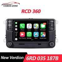 MIB RCD360 Carplay Radio 6RD 035 187B RCD 360 pour VW Golf 5 6 Jetta MK5 MK6 Polo Passat B6 B7 CC Tiguan Touran