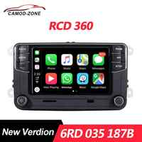 MIB RCD360 Carplay Radio 6RD 035 187B RCD 360 para VW Golf 6 Jetta MK5 MK6 Polo Passat B6 B7 CC Tiguan Touran