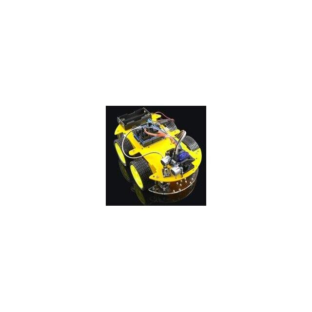 A2 Многофункциональный Умный автомобильный комплект для Bluetooth шасси костюм слежения совместим с UNO R3 DIY RC электронная игрушка робот с 1602