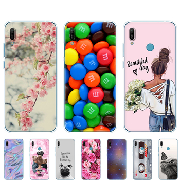 for Huawei y6 2019 Case Huawei Y6 2019 Silicone  Cover Soft Phone case For Huawei Y6 2019 MRD-LX1 MRD-LX1F Y 6 pro Y6Prime Case for huawei y6 2019 case cover for huawei y6 2019 finger ring pc tpu phone case protective hard armor case for huawei y6 2019